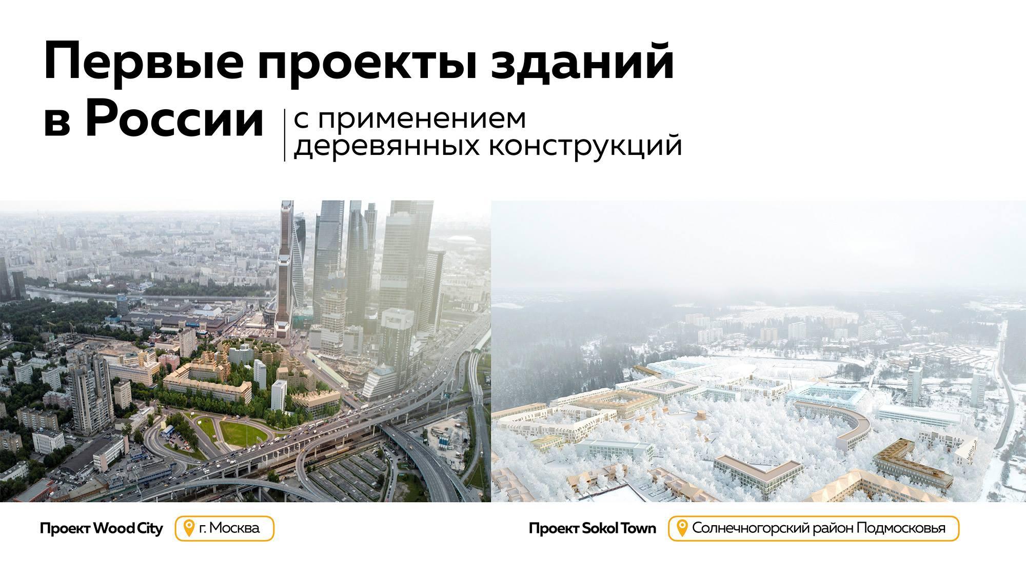 Эко-кварталы на территории Москвы и Подмосковья