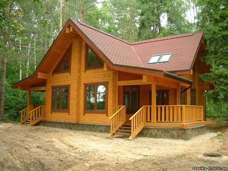 Выбирают деревянные брусовые дома