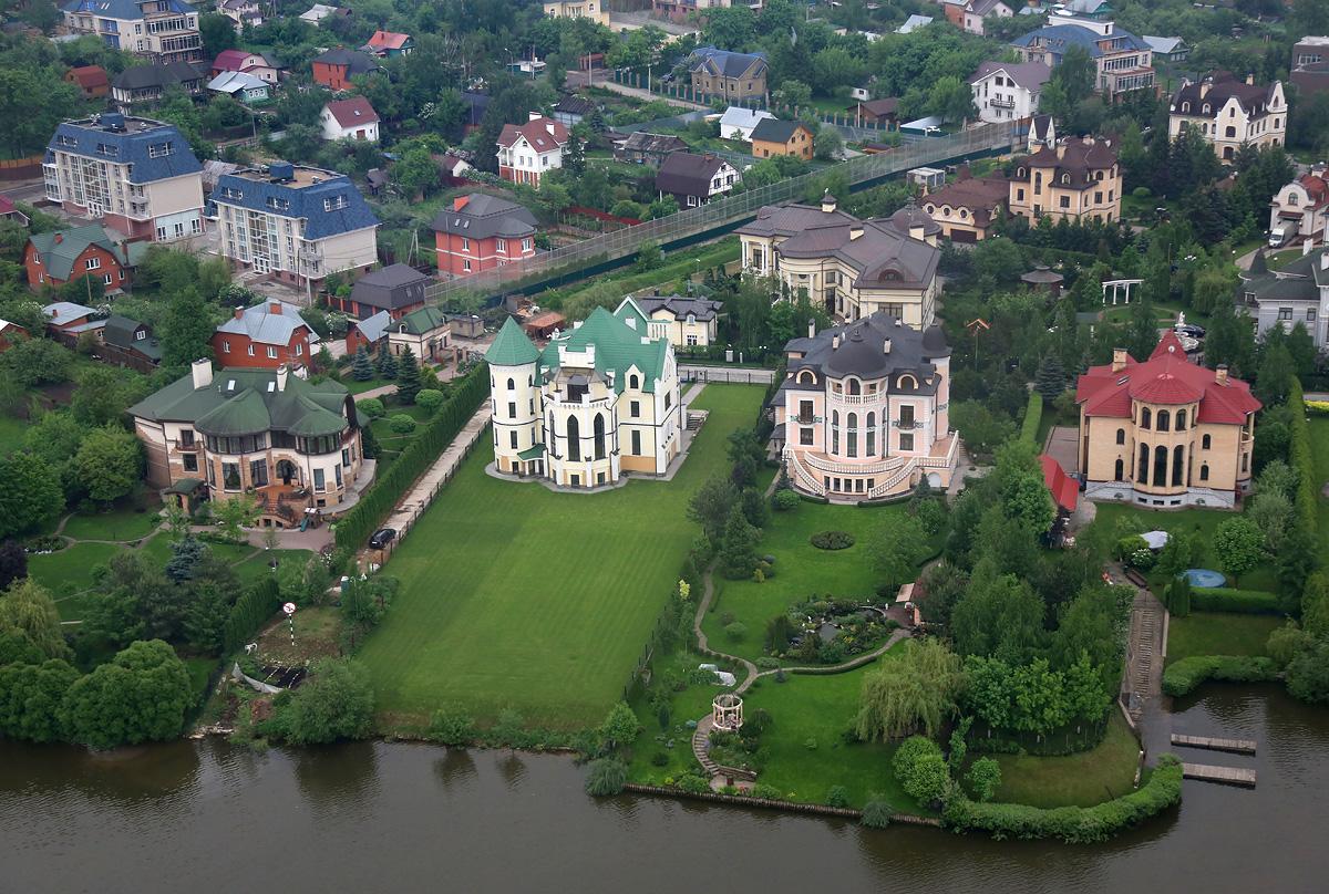 самый дорогой дом на Рублевки