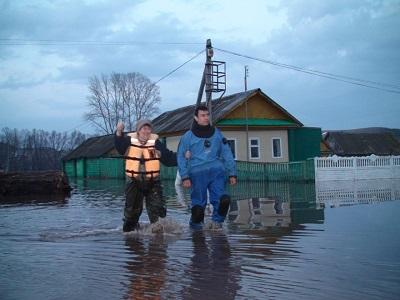 затопленная деревня