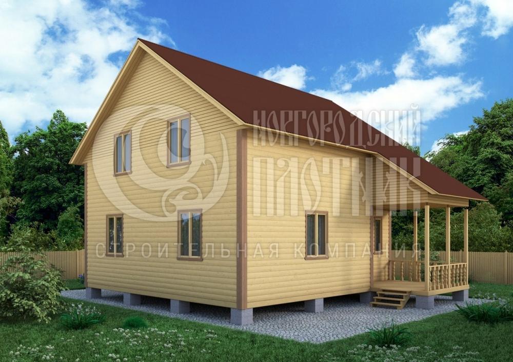 новгородский плотник дома под ключ