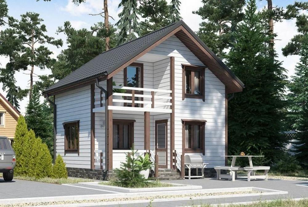 Каркасный дом Ставрополь и Ставропольский край: проекты для строительства с фото и ценами — Лесстрой