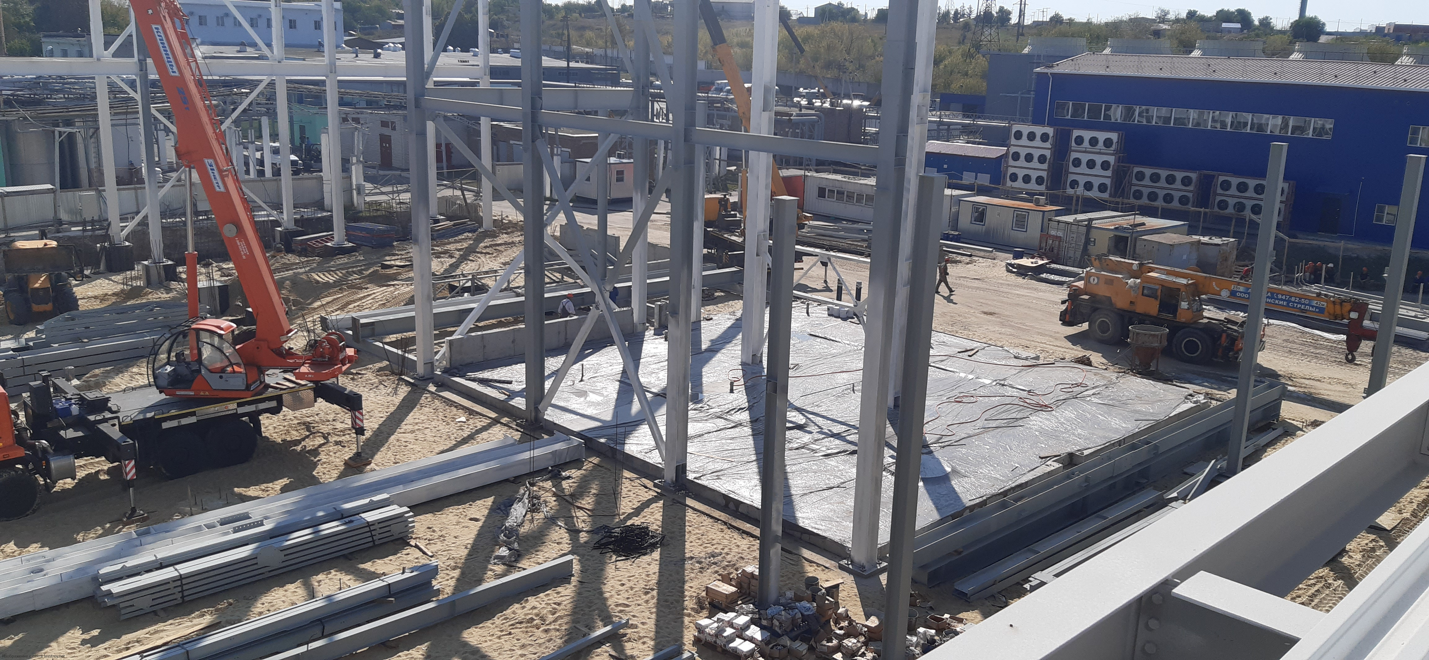 Изготовление металлоконструкций в Воронеже
