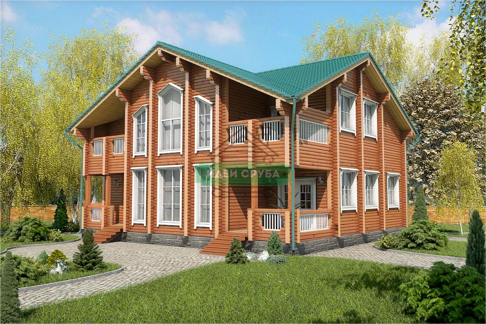 Дома из клееного бруса с стеновым комплектом в Москве: проекты для строительства с фото и ценами — Лесстрой