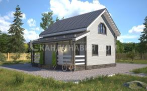 Лейпциг - Строительная компания Скандинавия Дом. Проект, цена, фото и отзывы.
