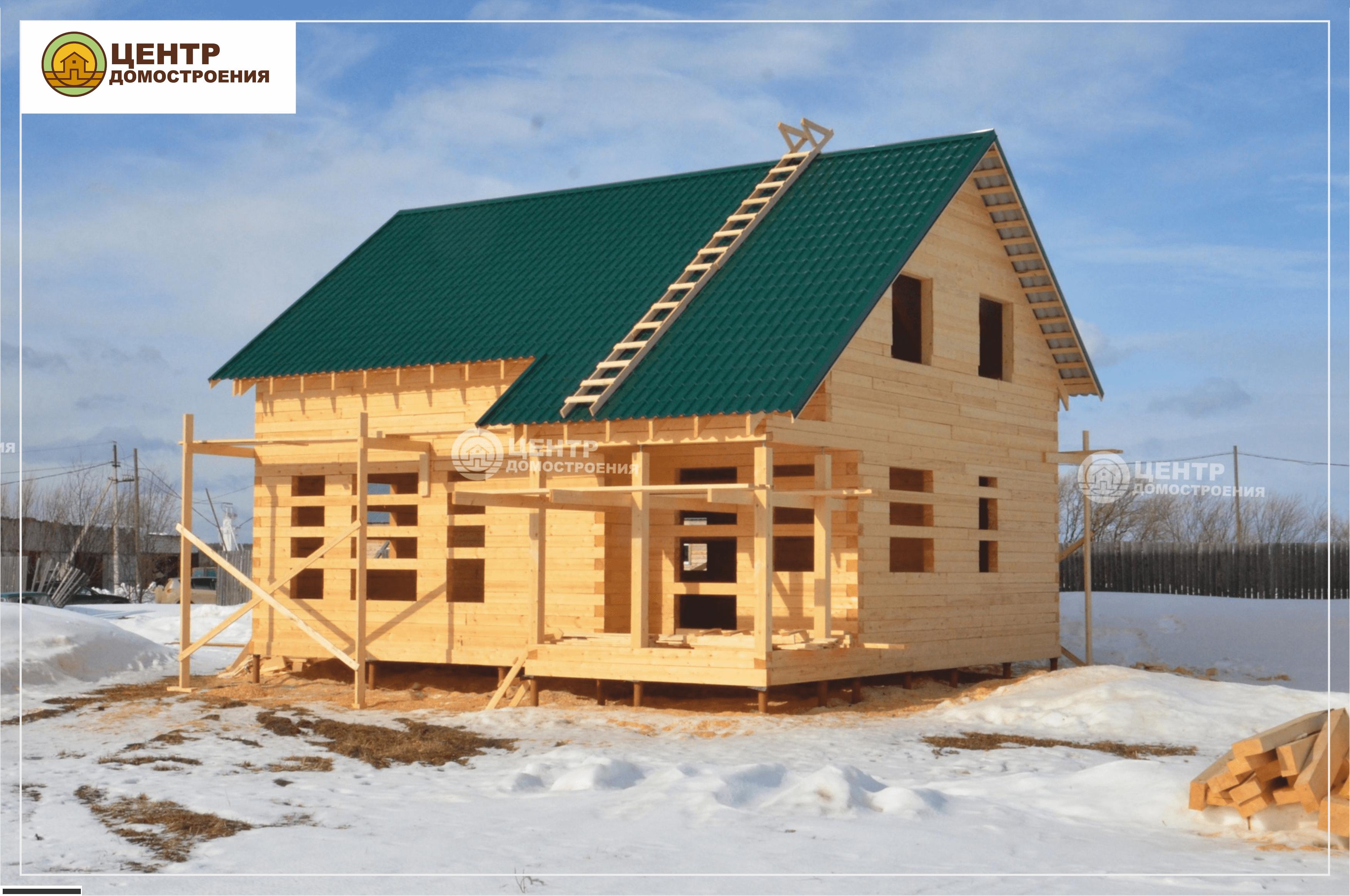 Дом из бруса Ухта: проекты для строительства с фото и ценами — Лесстрой
