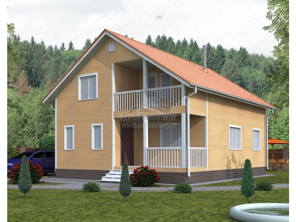 Каркасные дома в Ставрополе и Ставропольском крае: проекты для строительства с фото и ценами — Лесстрой